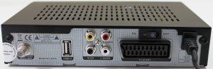 спутниковый ресивер Телекарта EVO 01 разьемы подключения
