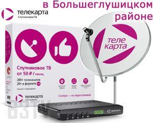 Телекарта ТВ в Большеглушицком районе Самарской области