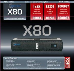 Cпутниковый ресивер Оpticum x80 (Globo X80, Orton X80)