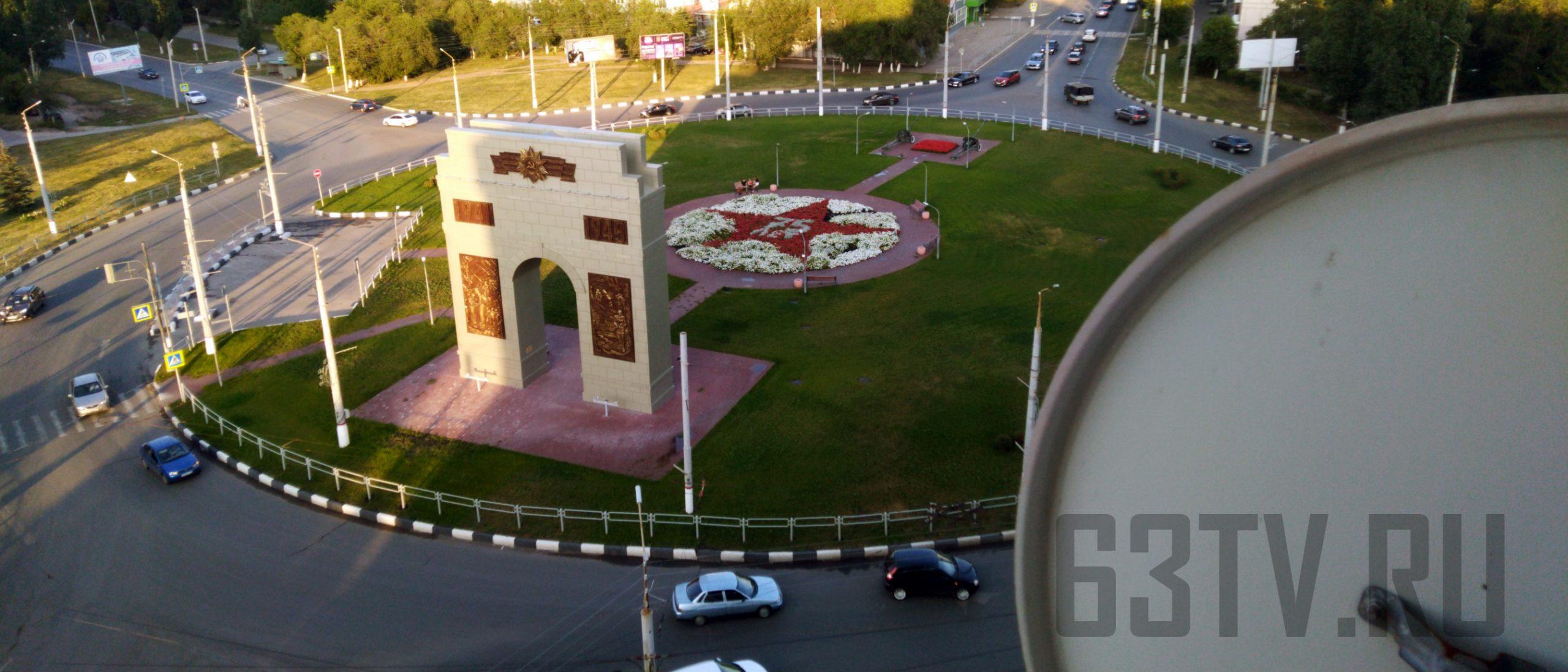 Спутниковая антенна в Новокуйбышевске